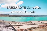 Lanzarote tiene ojos color sol. Cuidala Reserva de la Biosfera Lanzarote esthergarsan